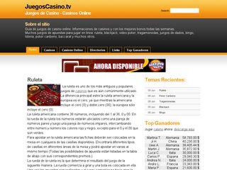 http://www.juegoscasino.tv