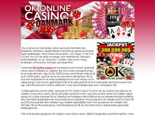 http://www.okonlinecasino.dk