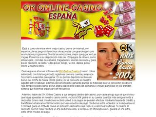 http://okonlinecasino.es