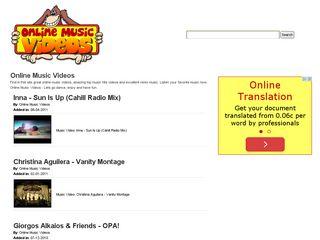 http://www.onlinemusicvideos.biz